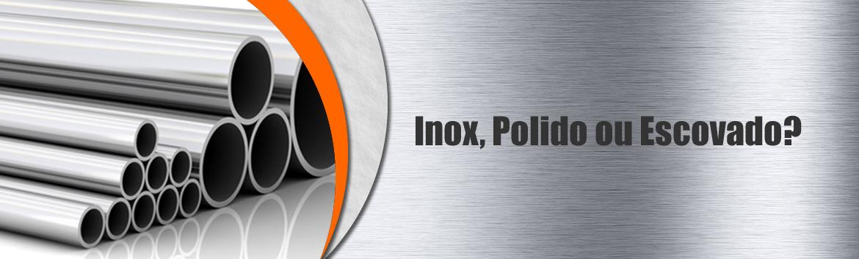A o inox polido ou escovado projinox for A ultima porta jejum coletivo